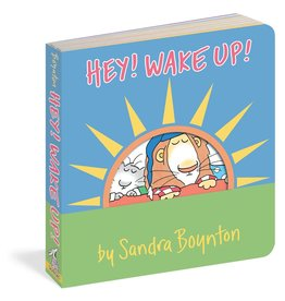 Workman Publishing Hey! Wake up! Book