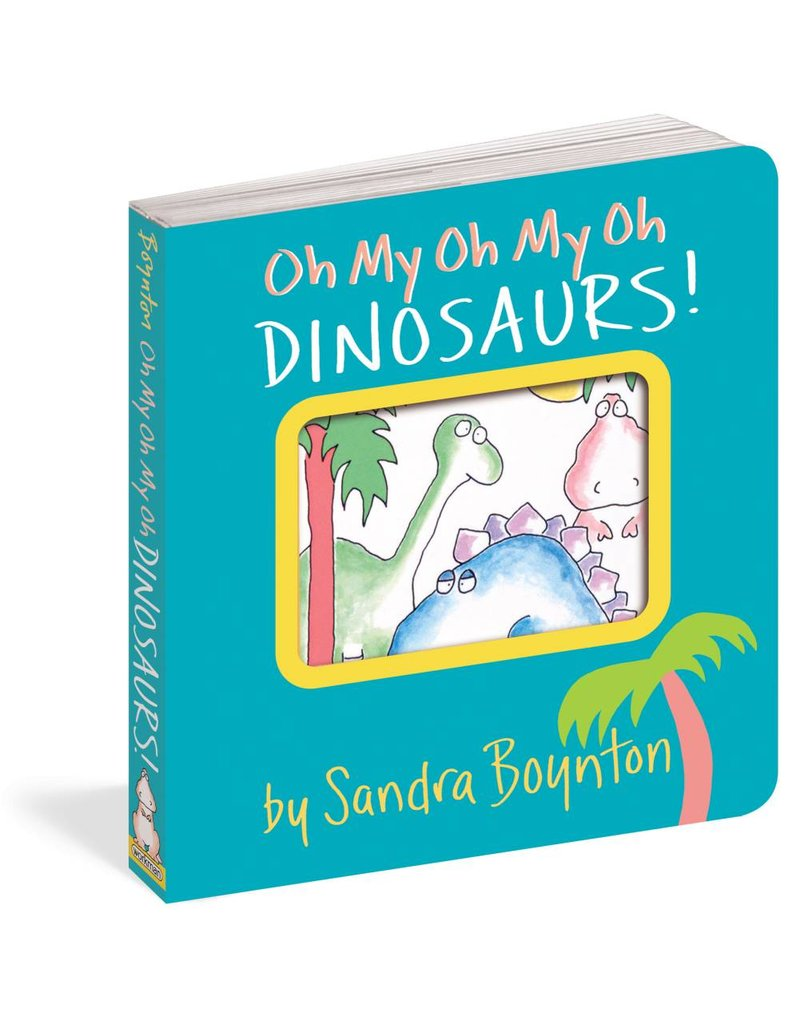 Workman Publishing Oh My Dinosaur Book