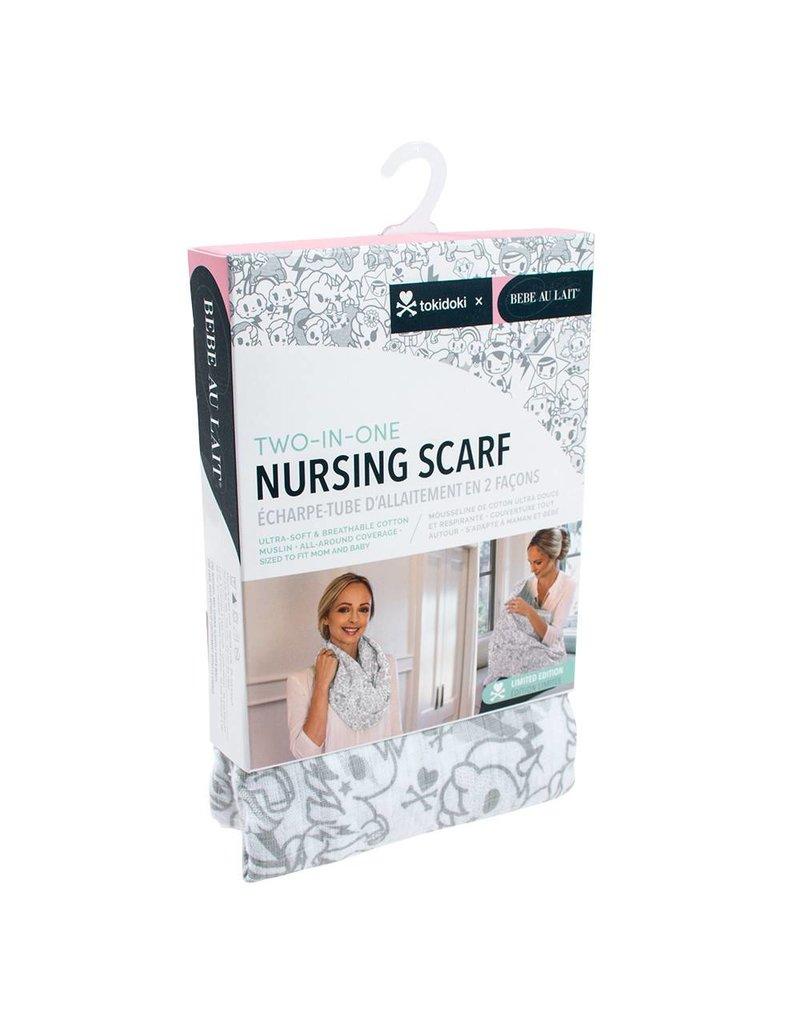 Bebe Muslin Nursing Scarf