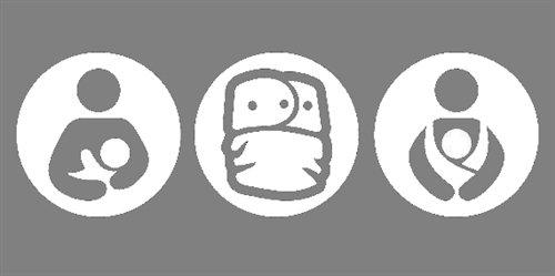 Nappy Shoppe Sticker - Breastfeeding, Cloth Diaper, Babywearing