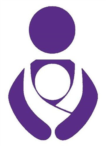 Nappy Shoppe Sticker - Babywearing Symbol
