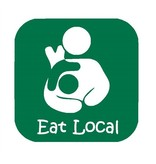 Nappy Shoppe Sticker - Eat Local Bfeed Toddler Box