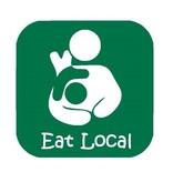 Nappy Shoppe Sticker - Eat Local Breastfeeding Toddler Box