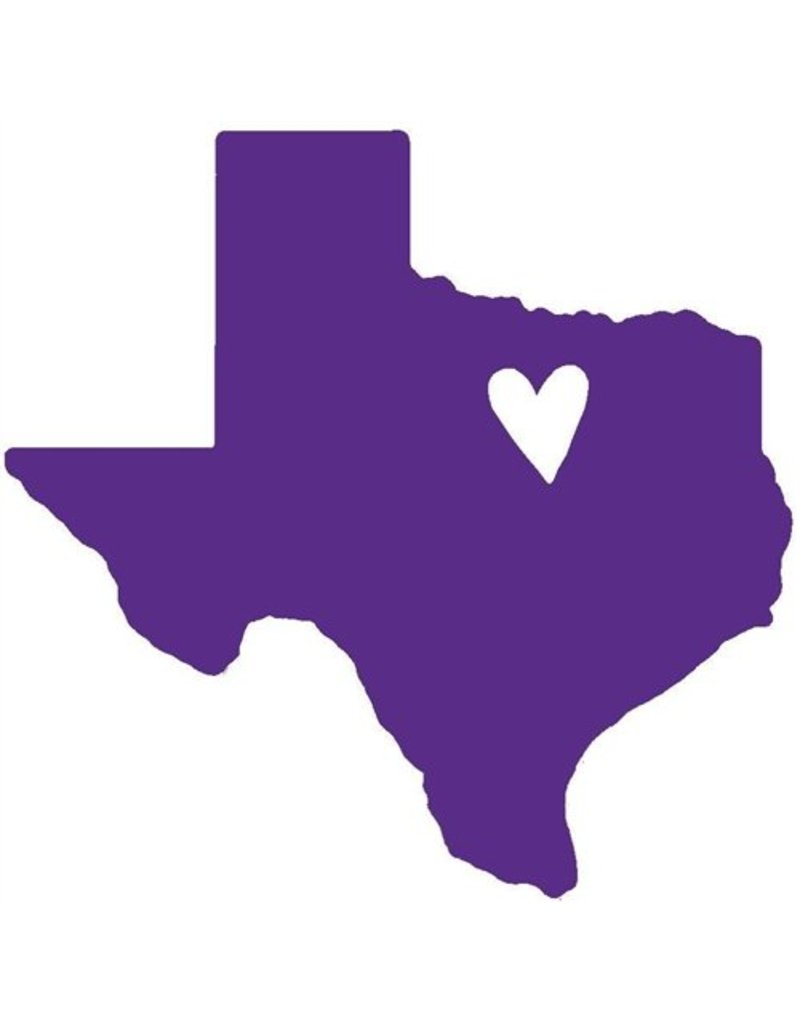 Nappy Shoppe Sticker - Mini Texas Heart
