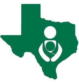 Nappy Shoppe Sticker - Texas Babywearing