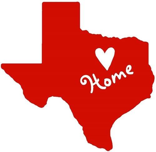 Nappy Shoppe Sticker - Texas Home Heart