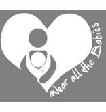 Nappy Shoppe Sticker - Wear All Babies
