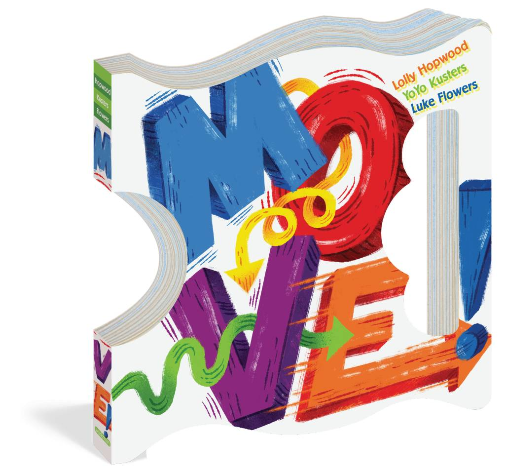 Workman Publishing MOVE Board Book