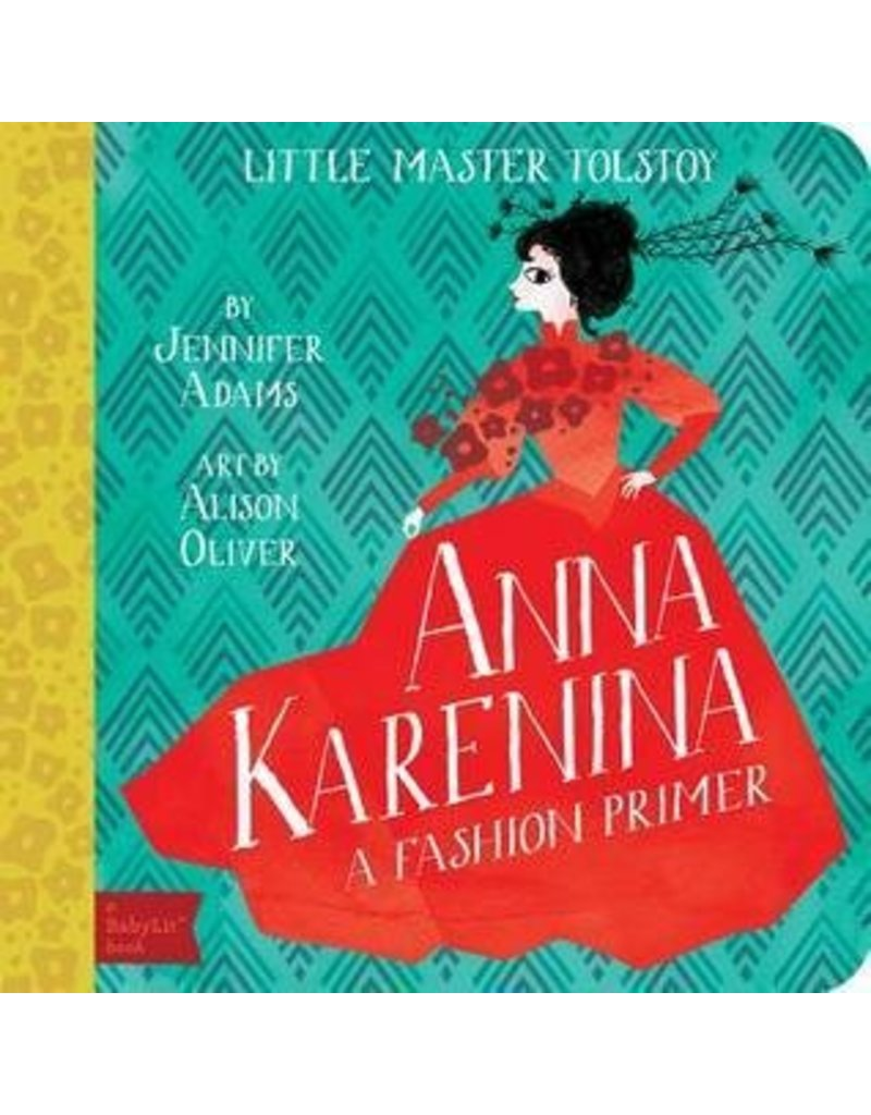 Gibbs Smith Publishing Babylit Primer Board Book Anna Karenina