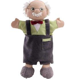 Haba Haba Glove Puppet Grandpa