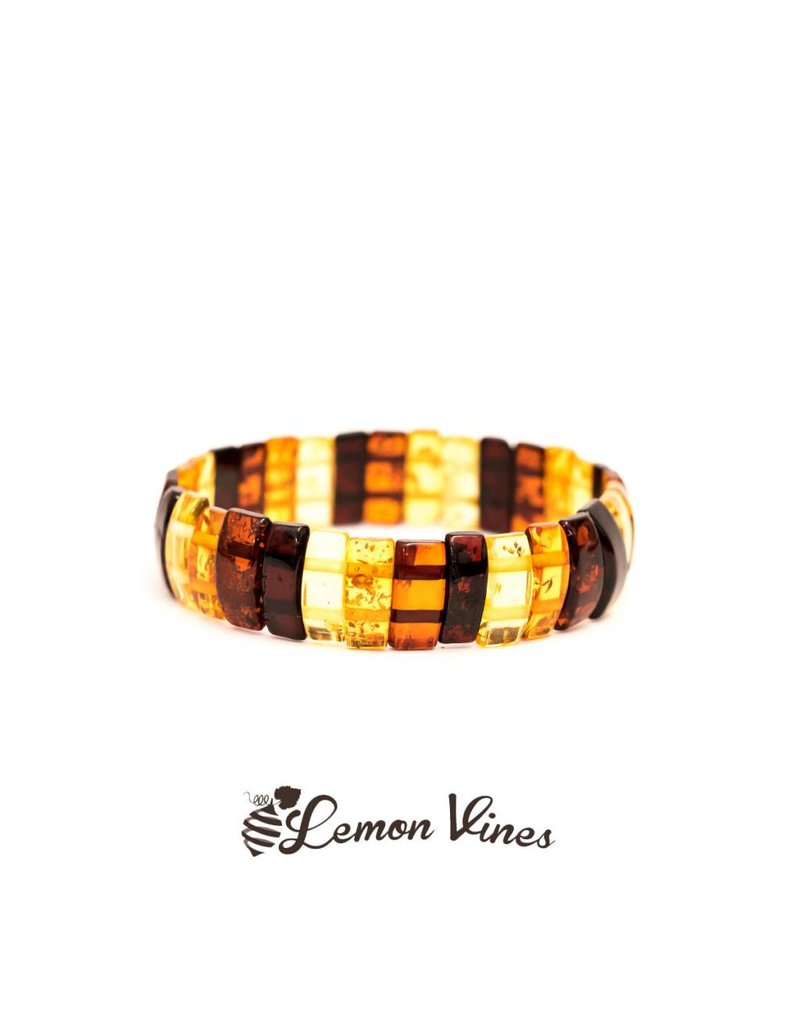 Lemon Vines Luxury Deluxe Amber Bracelet