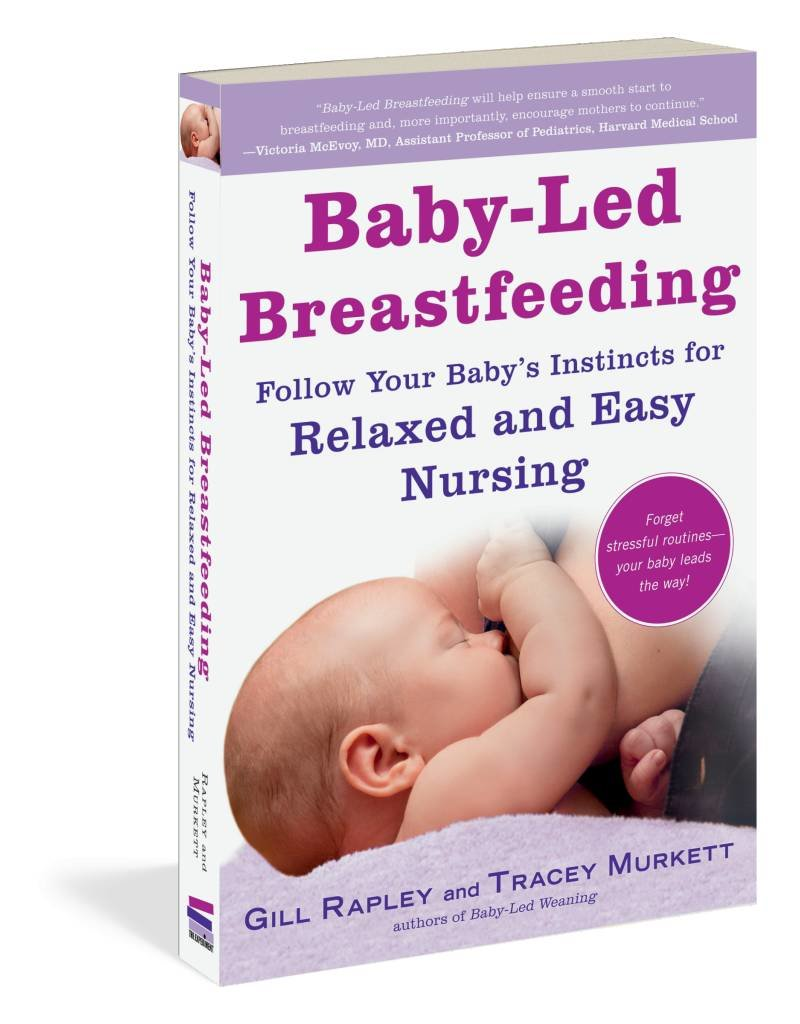 Workman Publishing Baby-Led Breastfeeding