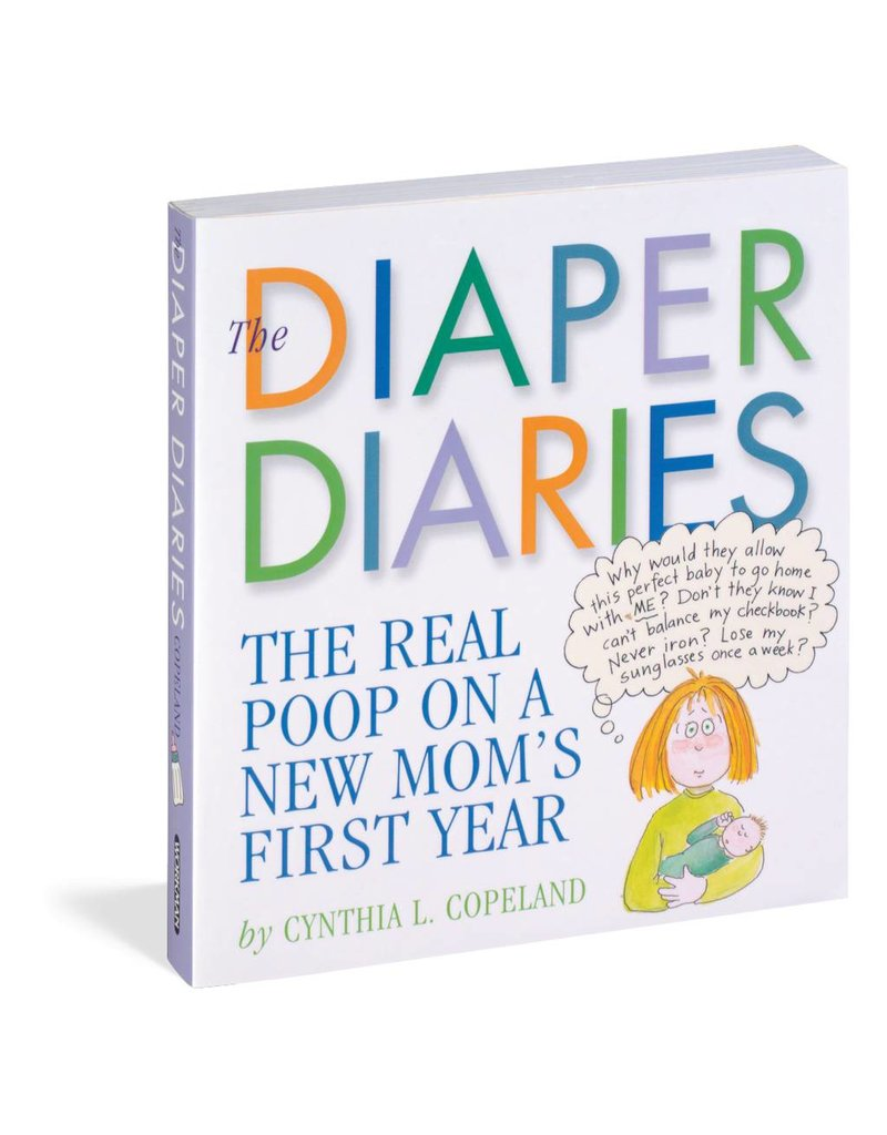 Workman Publishing The Diaper Diaries Book