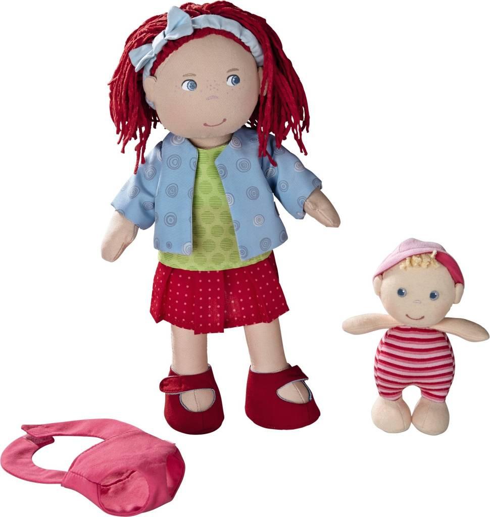 Haba Doll Rubina with Baby