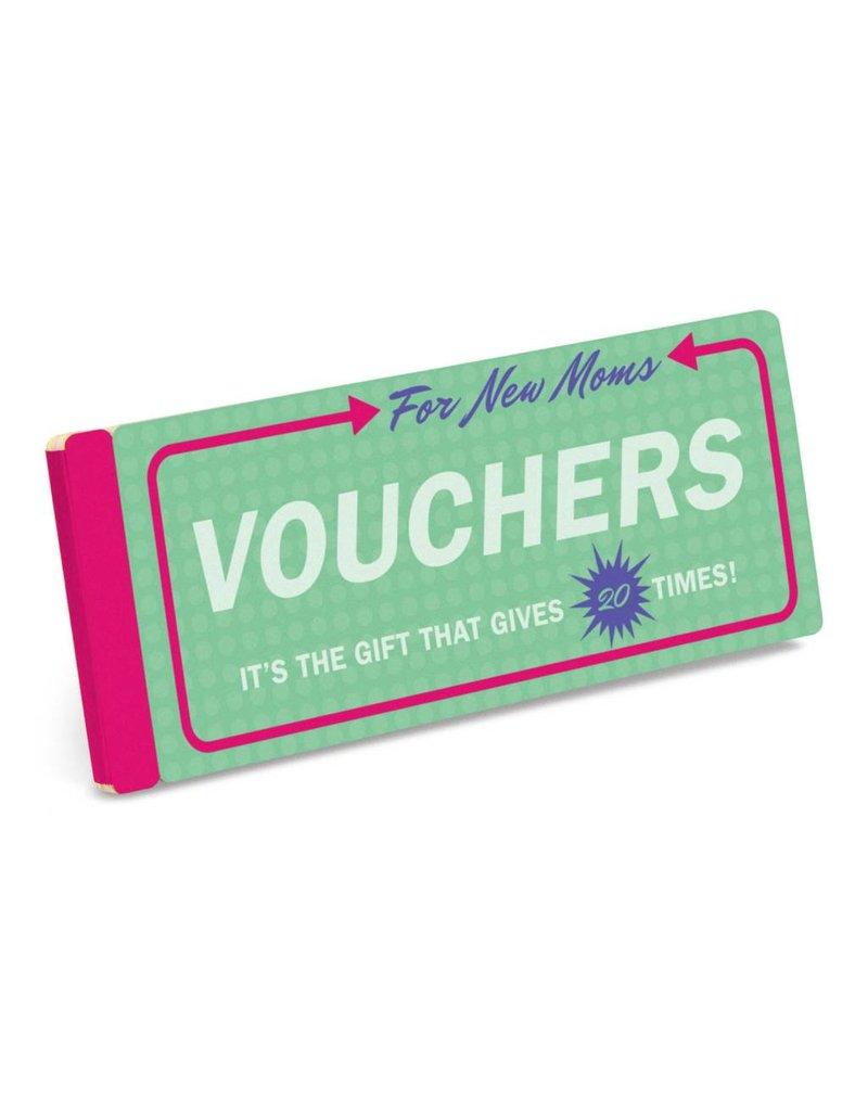 Knock Knock Vouchers for new Moms