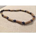 BE Hazelwood Lapis Lazuli 10-11 inch Screw