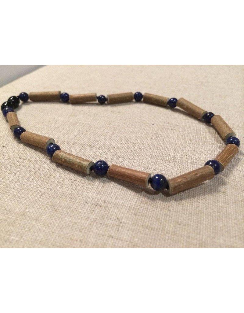 Baltic Essentials BE Hazelwood Lapis Lazuli 10-11 inch Screw