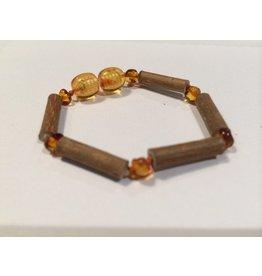 BE Hazelwood Light Amber Baby Bracelet