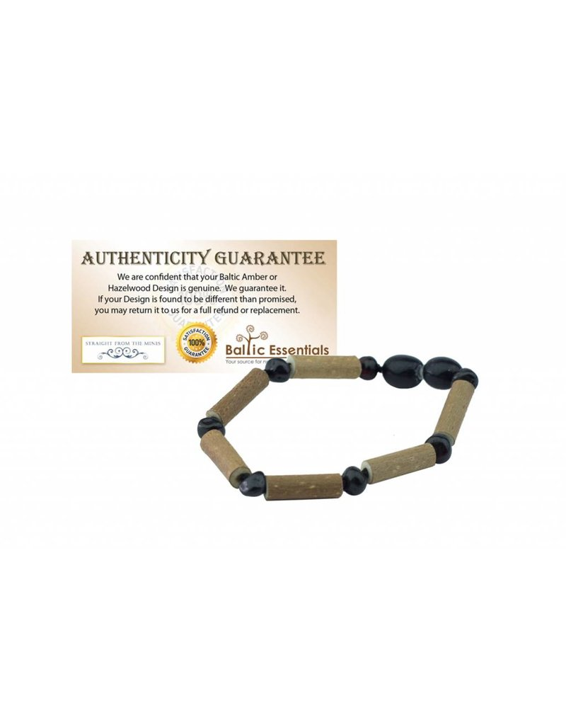 Baltic Essentials BE Hazelwood Onyx Baby Bracelet
