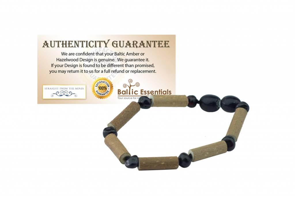 Baltic Essentials BE Hazelwood Onyx Baby Bracelet