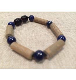 BE Hazelwood Lapis Lazuli Baby Bracelet