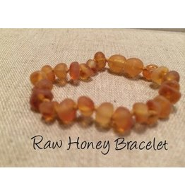 Baltic Essentials BE Amber Bracelet Raw Baby Screw Honey