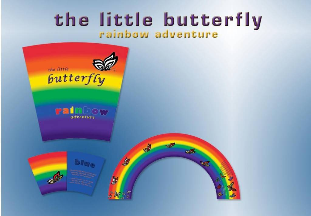 Michaelson Entertainment Little Butterfly Rainbow