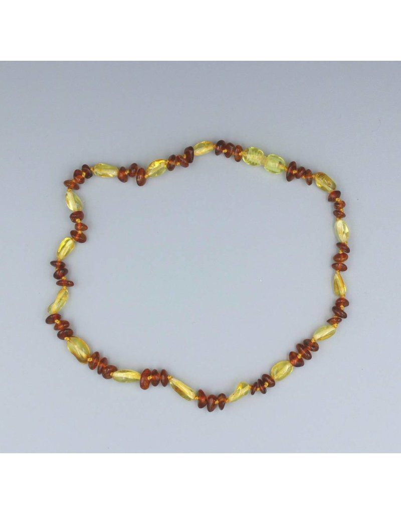 Lemon Vines Lemon Vines Baby Amber Necklace Annabelle Aprox 11 in Pop Clasp