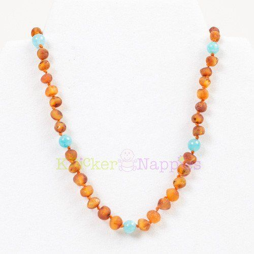 Knickernappies Knickernappies Gemstone Amber Necklace