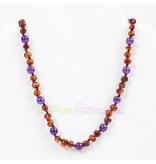 Knickernappies KN Gemstone Amber Necklace