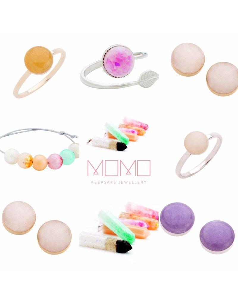 Momo Keepsake Jewellery Feather Ring