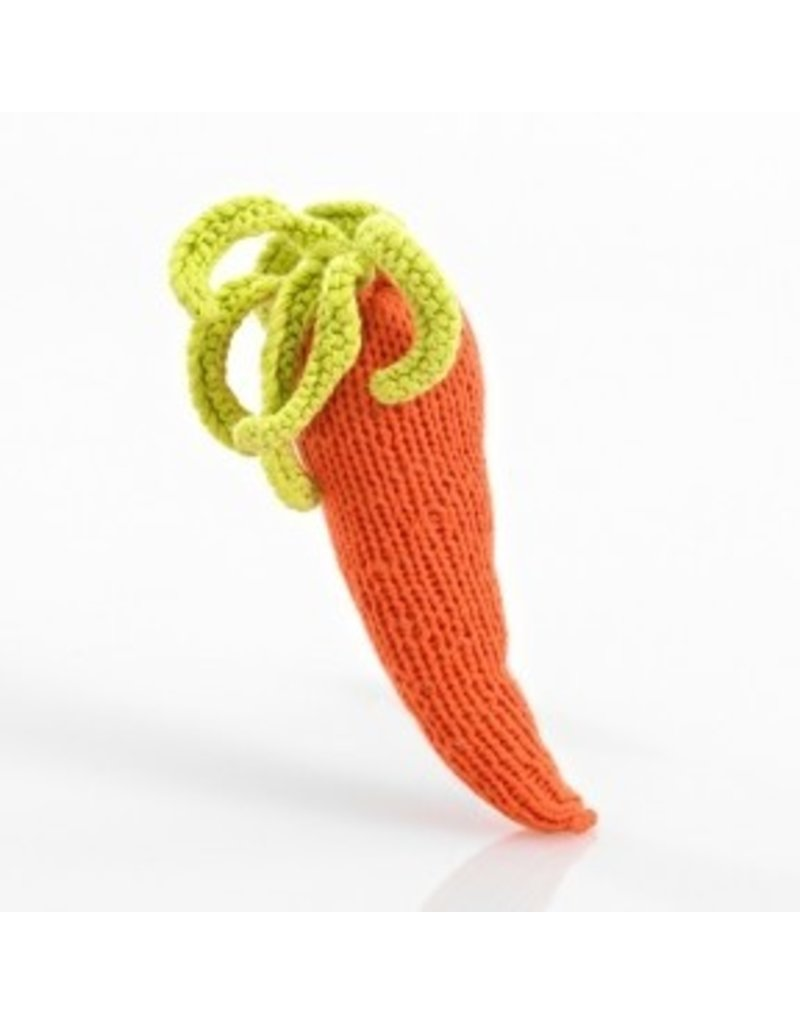 Pebble Veggie Rattle
