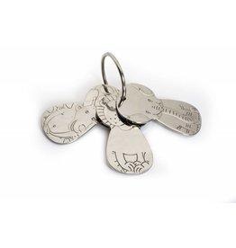 Kelynimals Stainless Steel Toy Keys