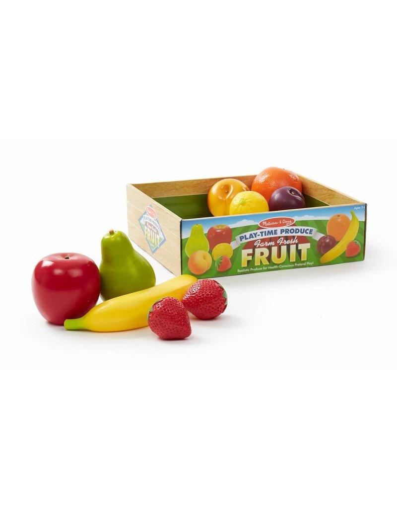 Melissa & Doug Farm Fresh Fruit Play-Time Produce