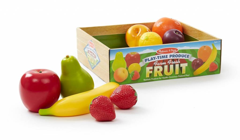 Melissa & Doug Farm Fresh Fruit Play-Time Produce