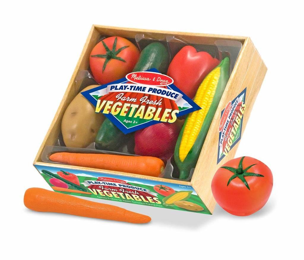Melissa & Doug Farm Fresh Vegetables Play-Time Produce