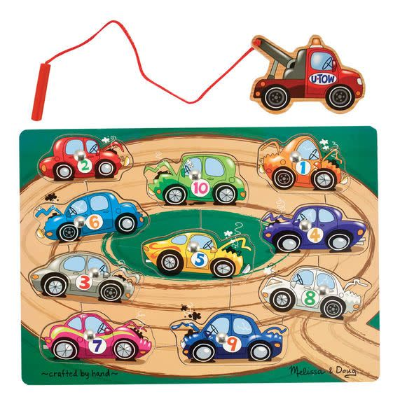 Melissa & Doug Magnetic Tow Truck Game