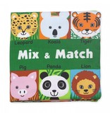 Melissa & Doug Mix and Match K's Kids Cloth Book