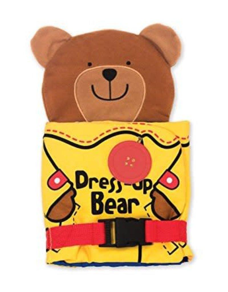 Melissa & Doug Dress-Up Bear K's Kids Cloth Book