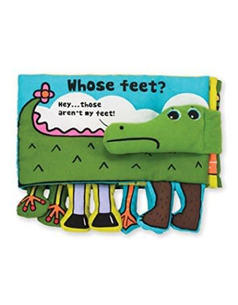 Melissa & Doug Whose Feet? K's Kids Cloth Book