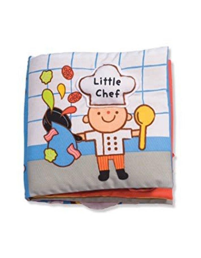 Melissa & Doug Little Chef K's Kids Cloth Book