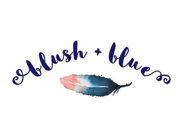 Blush + Blue