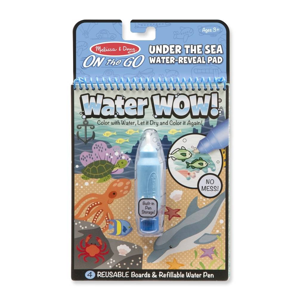 Melissa & Doug Under the Sea Water Wow!