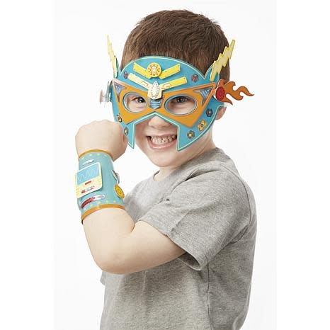 Melissa & Doug Superhero Masks and Cuffs Simply Crafty
