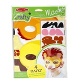 Melissa & Doug Safari Masks Simply Crafty