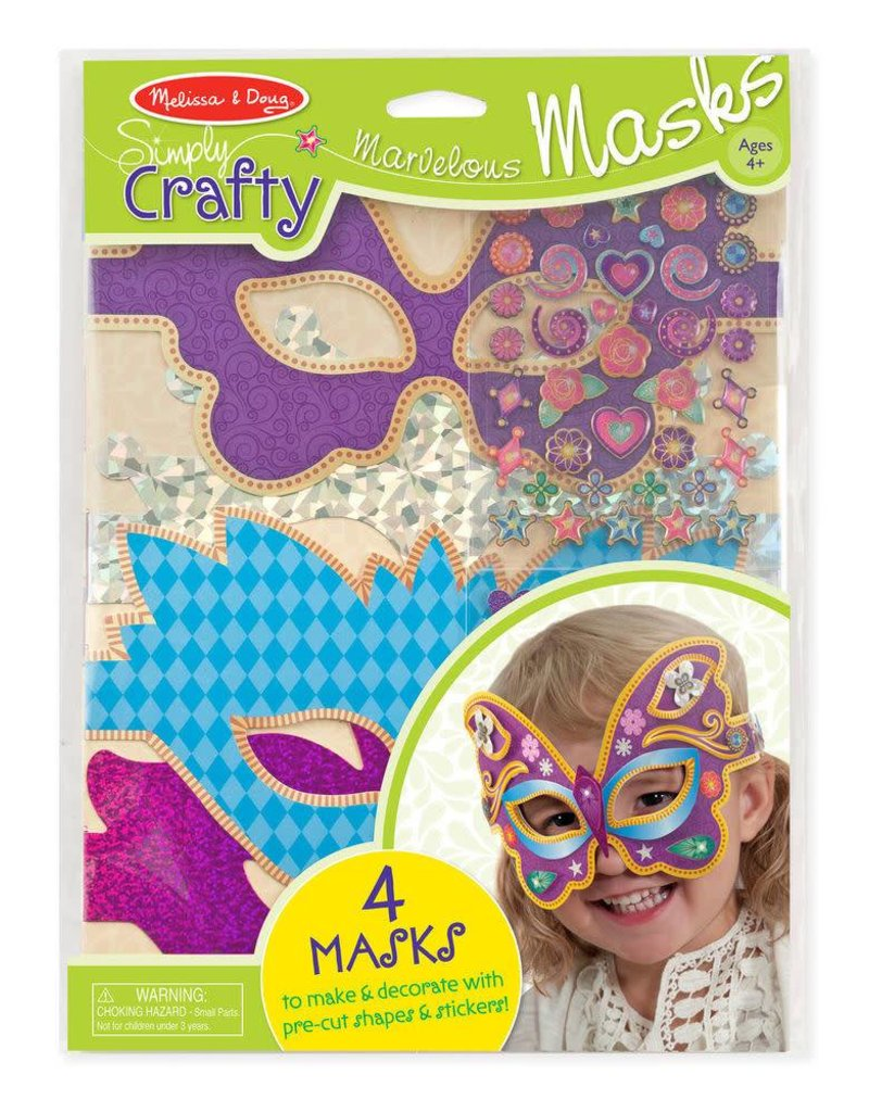 Melissa & Doug Marvelous Masks Simply Crafty