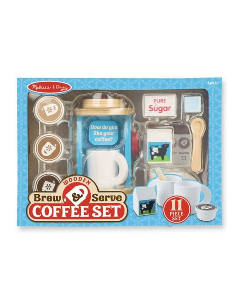 Melissa & Doug Brew and Serve Coffee Set