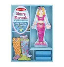 Melissa & Doug Merry Mermaid Magnetic Dress Up Set