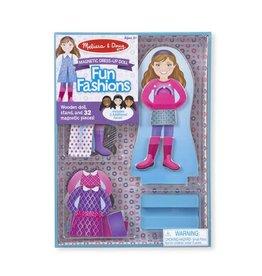 Melissa & Doug Fun Fashions Magnetic Dress Up Set