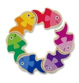 Melissa & Doug Friendly Fish Grasping Toy